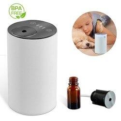 Безводное и Беспроводной эфирное масло распылив диффузор для ароматерапии Перезаряжаемые увлажнитель воздуха Арома диффузор для дома