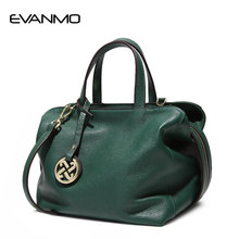 Women Bag Lady Cowhide Handbags Big Bag Ladies Made of Genuine Leather Women Messenger Bags Designer High Quality Gifts for Wife(China)