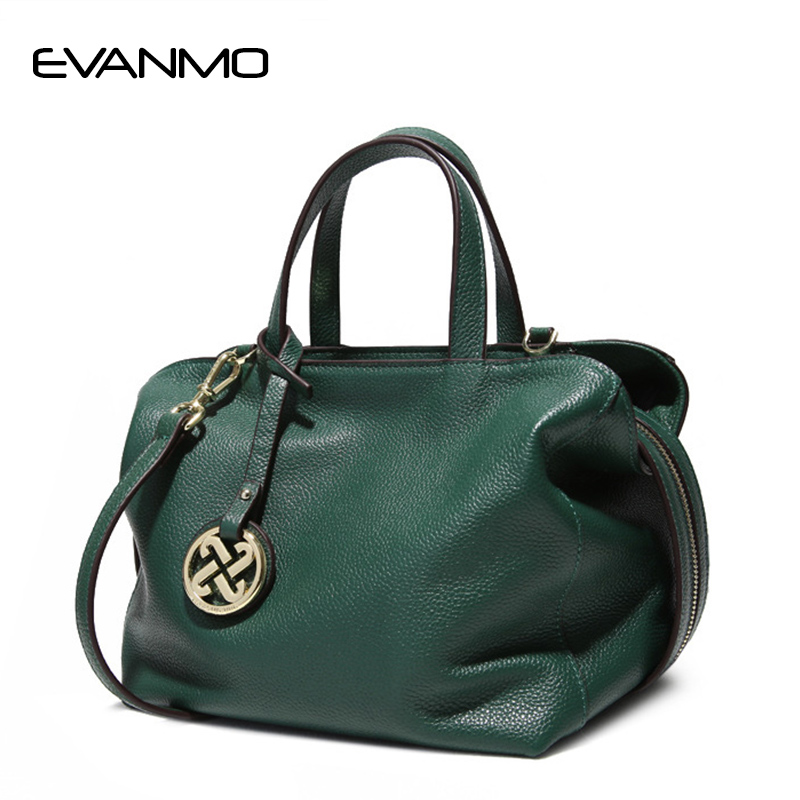 Women Bag Lady Cowhide Handbags Big Bag