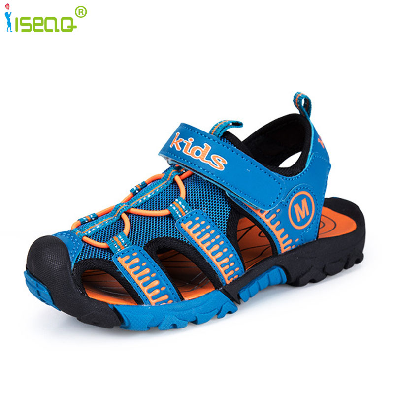Children Boys sandals cut outs soft and light child beach