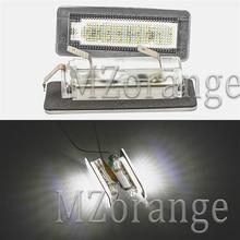 2 шт 18SMD светодиодный номерной знак света лампы ошибок для Benz Smart Fortwo купе 450 451 W450 W453
