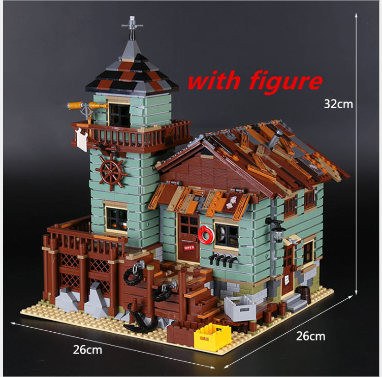 copmatible legoing 21310 ideas Old Finishing Store lepin 16050  MOC Series The Old Finishing Store Set Building Blocks Bricks lepin 16050 the old finishing store set moc series 21310 building blocks bricks educational children diy toys christmas gift
