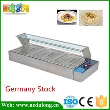 Acier inoxydable Bain Marie table top électrique bain marie buffee réchaud électrique chauffe-plats conteneur