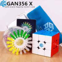 GAN356 X cubo magnético de velocidad mágica GAN356X profesional gans 356X imanes rompecabezas cubo mágico gan 356 X