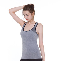 2017 New Style Tank Tops Sweat Comfortable Breathable High Quality Elasticity Fitness Sporting Fashion Casual Gray