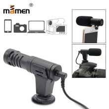 Mamen Mic 06 Hifi HD Stereo Mini Microphone 3.5mm Condenser Video Camera Interview Cansert Mic For iPhone Samsung Microphone