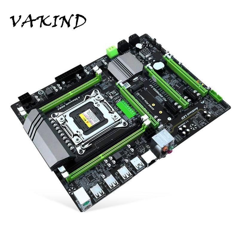 X79T DDR3 PC Desktops Motherboard LGA 2011 CPU Computador 2 Canal Suporte Jogos M.2 E5-2680V2 i7 SATA 3.0 USB 3.0 para Intel B75