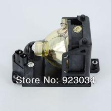 Dt00707 lâmpada com habitação para hitachi ed-pj32/pj-lc9/pj-lc9w garantia 180 dias