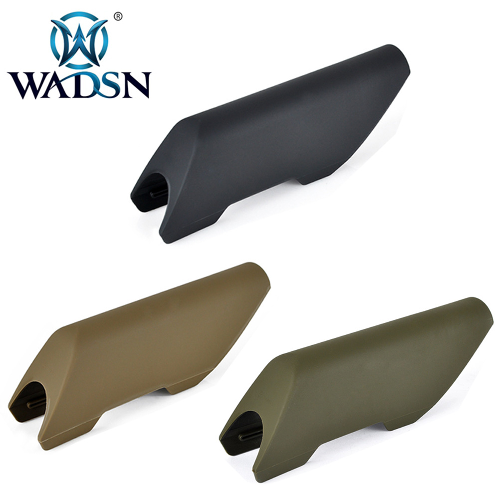 WADSN Airsoft Cheek Riser High Style  For Use on Non AR/M4 Application Military Hunting Accessories CTR CHEEK RISER HIGH WEX053-in Hunting Gun Accessories from Sports & Entertainment