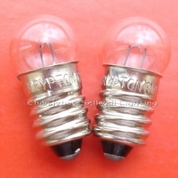 Miniature lamp 6v 0.75a E10 A607 GREAT 10pcs