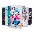 Para huawei y3 ii case wallet virar pu couro magnético colorido pintado casos de telefone para huawei y3 ii y3 2 case capa com cartão