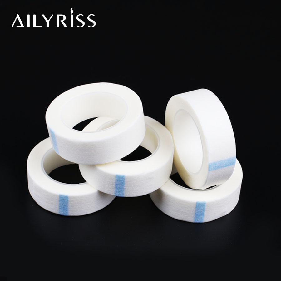 5 Rolls Surgical Tape Nedical Breathable Non-woven Tape Non-woven Tape For Eyelash Extension Tools To Protect Under Eyelashes