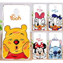 Exclusivo! Mickey Mouse Donald Pato Pintado Plástico PC Capa Shell Para caixa do telefone para meizu m3 note caso meizu m3 note cobrir