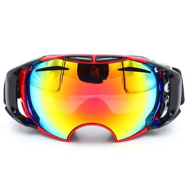 Cuzaekii Anti-fog Double Lens Ski Snowboard Goggles Skiing Snowboarding Snowmobile Glasses Eyewear Mask- 2017 New Arrival