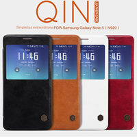 Nillkin QIN Series Leather Case For Samsung Galaxy Note 5 N920 Luxury Brand Use Fine Leather