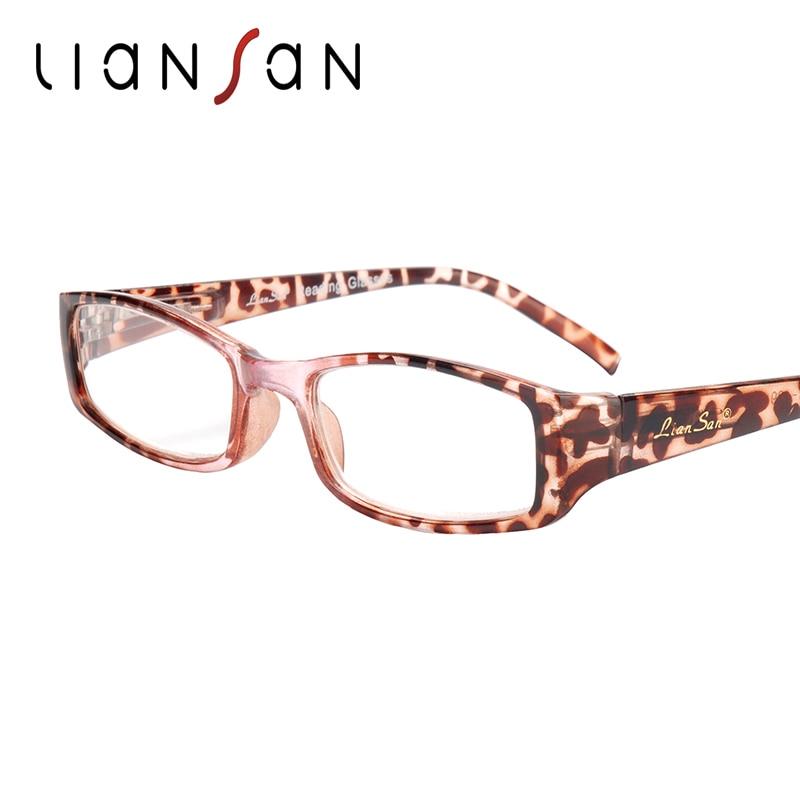 LianSan Vintage Reading Glasses font b Women b font Men Retro Luxury Brand Designer Hyperopia Presbyopia