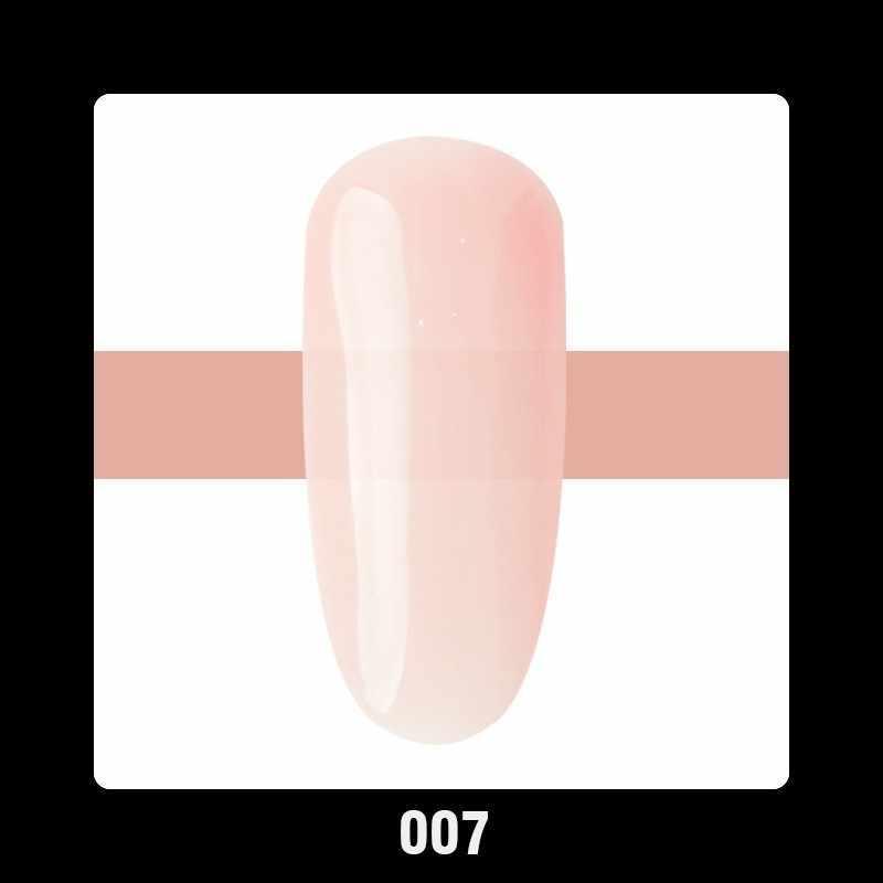 1pc UV LED Clear Roze Naakt Camouflage Melkachtige Bond Base Builder multifunctionele Nail Extension Gel Nagellak 10ml