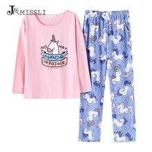 Симпатичные женские пижамные комплекты JRMISSLI, комплект из 2 предметов с принтом, короткий топ и шорты, женская пижама, хлопковый женский Пижамный костюм