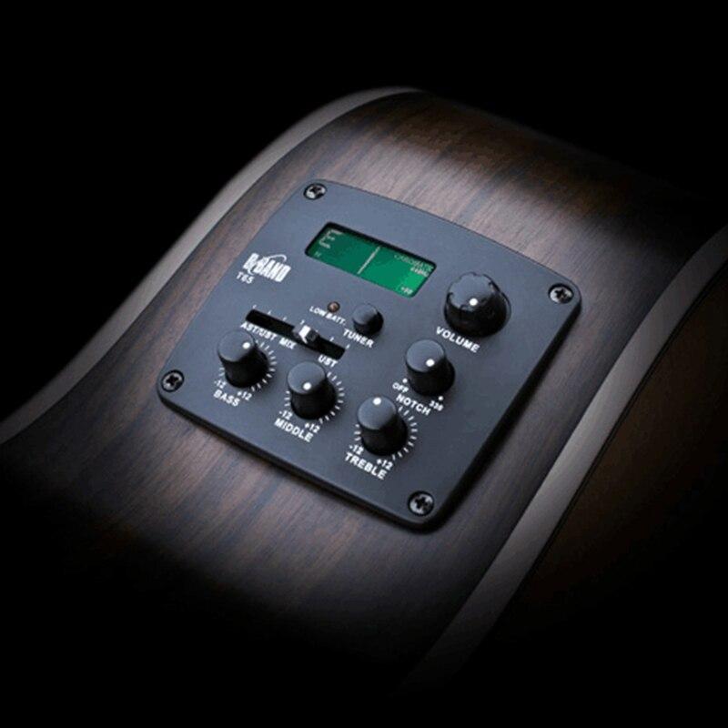 Guitare acoustique pick-up Eq accessoires de guitare b-band T65 pick-up accordeur électronique plateau de jeu accessoires de guitare