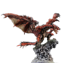 Rathalos Monster Hunter World Figure Roc Flying in the Sky Japanese Anime Spread Wings PVC Models Hot Dragon Action