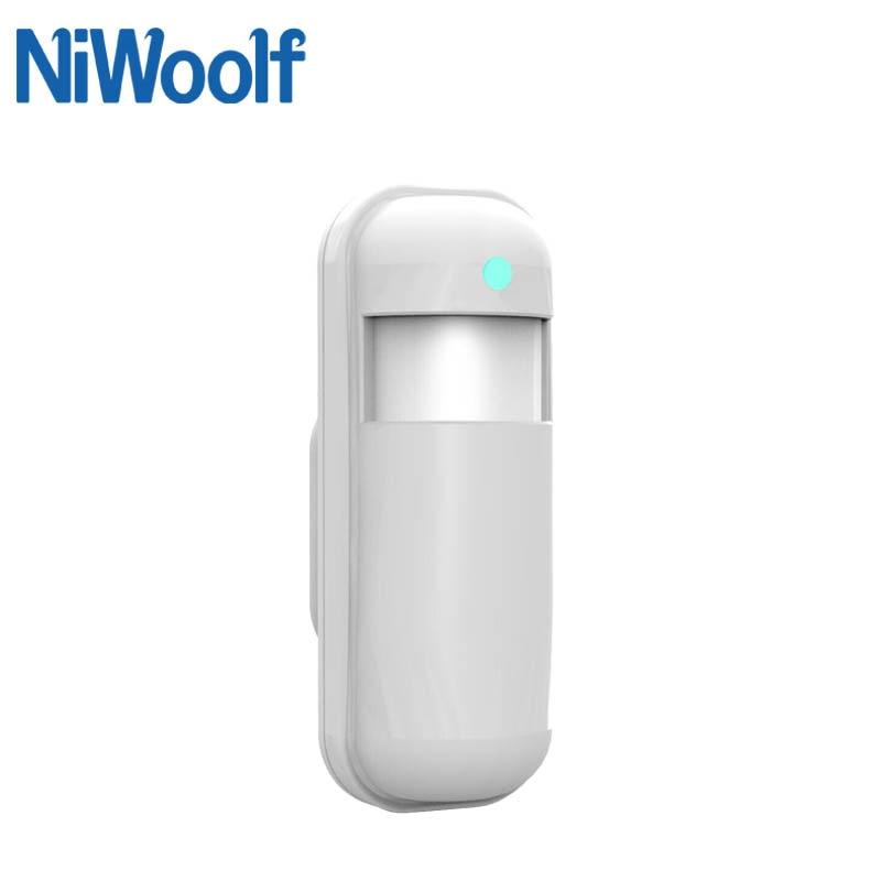 Wireless Infrared Detector 433MHz Motion Sensor For PG103 W2B Wifi GSM Home Burglar Alarm System