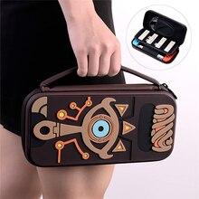 สำหรับNintendo Switchกระเป๋าถืออุปกรณ์เสริมกระเป๋าเก็บHardยางEVAแบบพกพาสำหรับคอนโซลNS