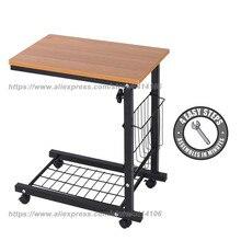 Overbed Table Hospital Bed - Swivel Wheel Adjustable Over Bedside Home Desk Laptop, Reading, Eating Breakfast Cart Stand