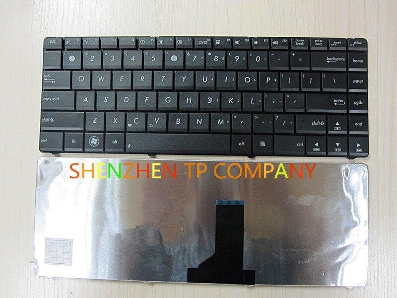 Brand New Laptop Keyboard FoR ASUS N43J A42 A42JC K42 K42D X42J P42J X84L Service US Version BLACK Colour