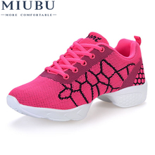 MIUBU New Soft Outsole Breath Shoes Women Feature Sneakers Hip Hop Woman Shoe Zapatos Movefun