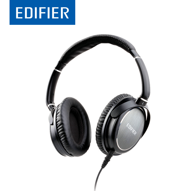 EDIFIER H850 HIFI Over-Ear Headphone Noise-Isolating 40mm Drivers Bass Pure Sound Ergonomic Design With 3.5mm & 6.5mm Connector