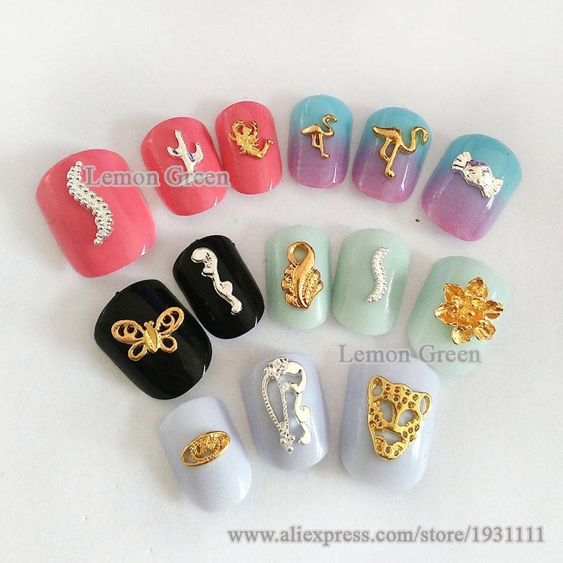 20pcs nail art wholesale metal gold japan nail art supplies fashion ...