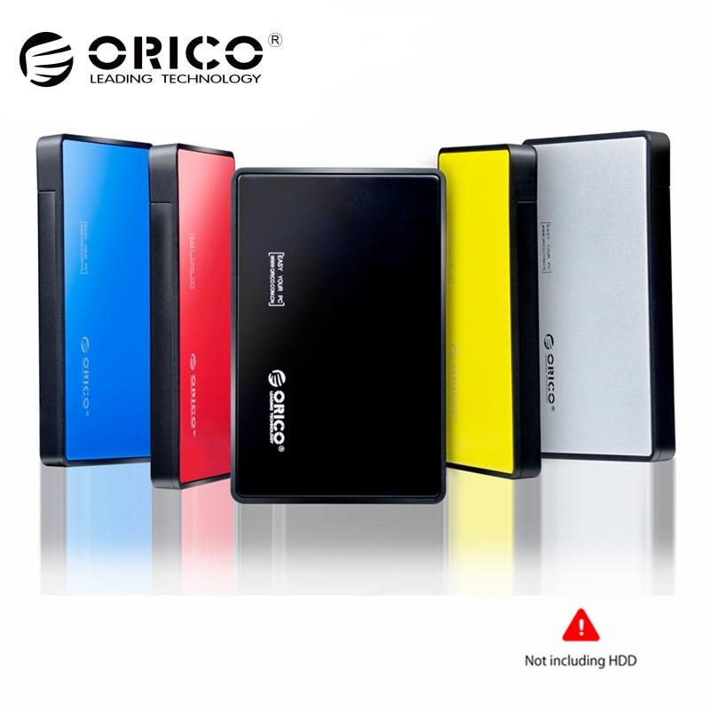 ORICO Outil-livraison 2.5 pouce USB 3.0 Disque Dur HDD Externe Case Boîtier pour 9.5mm 7mm 2.5 SATA HDD SSD UASP Pris En Charge