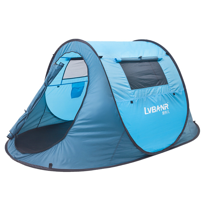 T04 Three-Season Tent quick opening pop up  Tent 1 - 2 Person beach  Tent With Carrying Bag For Camping Hiking  travelling high quality outdoor 2 person camping tent double layer aluminum rod ultralight tent with snow skirt oneroad windsnow 2 plus