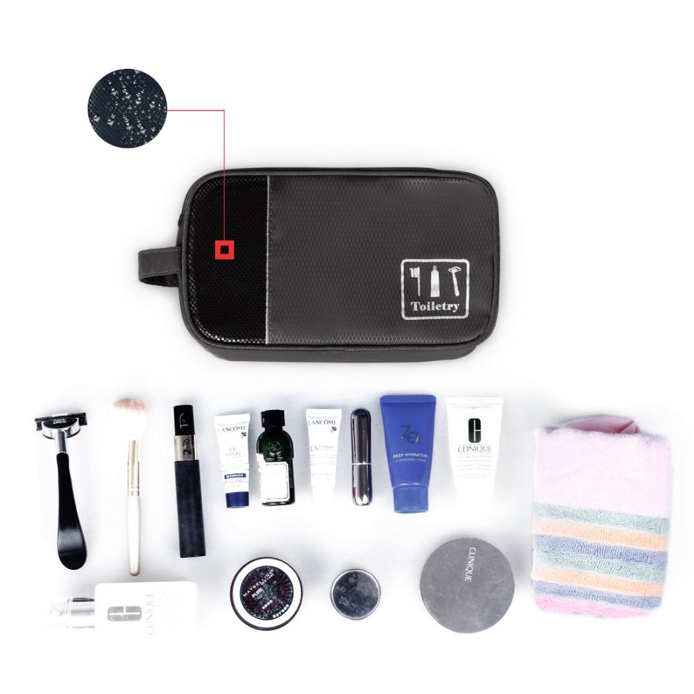 BAGSMART 4 Pcs Travel Organizer Bags Kit Packing Cube Shoes Pouch Electronic Organizer Toiletry Bag Luggage Storage Bag Suit Bag