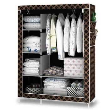 Non-woven fold Closet Portable Storage Cabinet 1