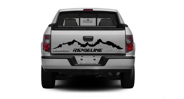 Car Styling For Honda Ridgeline Back Side Vinyl Body Decal Sticker