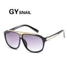 GYsnail Top Hot Women Square Sunglasses Men Luxury