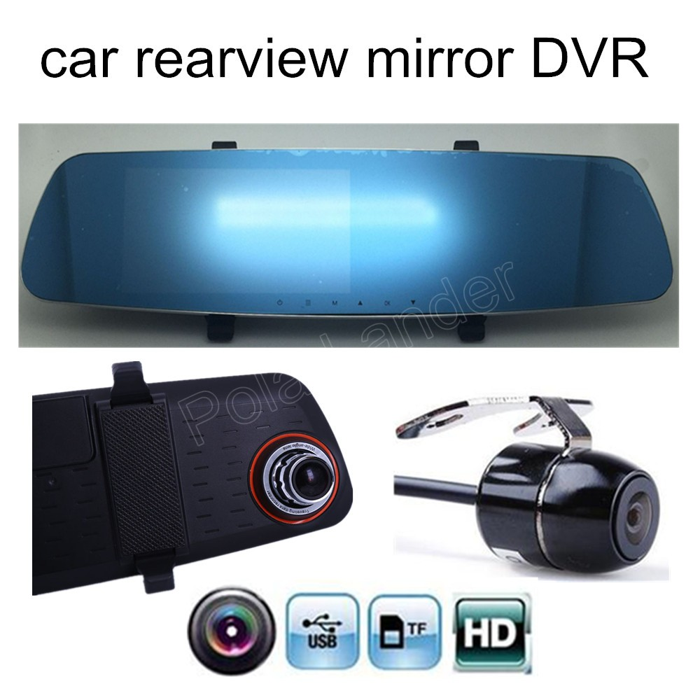 Best Selling 5 Inch Car Rearview Mirror With Rear Camera