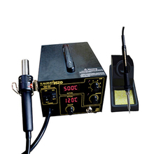 TAIKD952D Air pump type 2 In 1 ESD Hot Air Gun Soldering Station Welding Solder Iron For IC SMD Desoldering