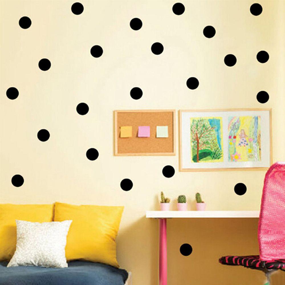 54/52/35 STÜCKE Home Decor Nette Punkte Kreise Vinyl Wand Aufkleber ...