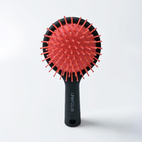 Circle Unny Gasbag One Skin Massage Comb Defence Static Electricity Portable Bring Mirror Air Cushion Hair