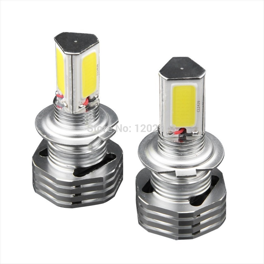 Seller Recommand!!! Pack of 2 3000LM 5500K 55W High Power 3-Sides Epistar LED H7 PX26D LED Low Beam Headlamps Fog Light 5 pack of disposable lighters pack of 3 sets