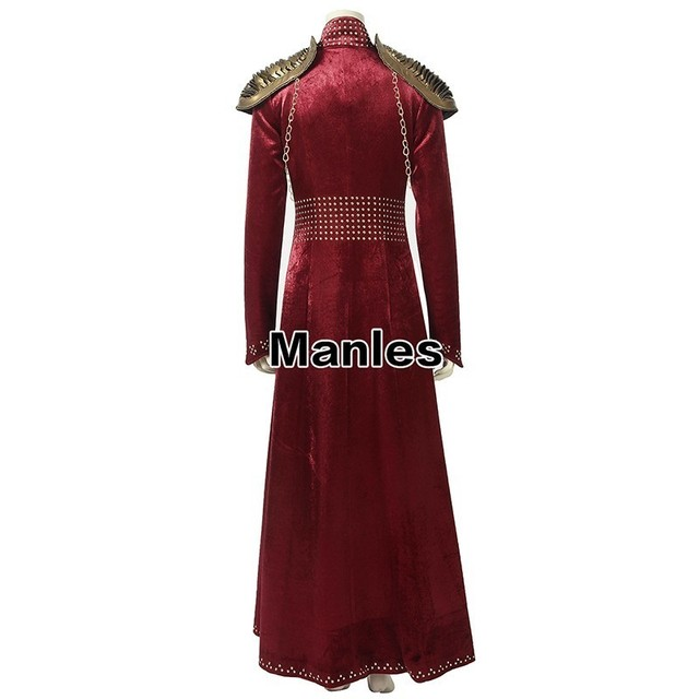 Cersei Lannister Cosplay Dress 1