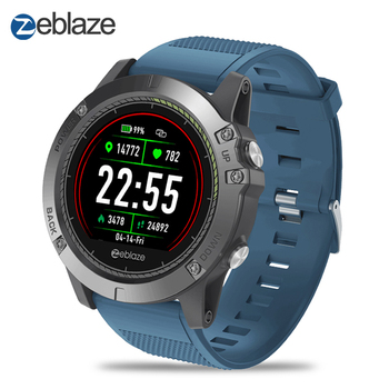New Zeblaze VIBE 3 HR Smart Watch IP67 Waterproof Activity Fitness Tracker Heart Rate Monitor BRIM Men Smartwatch