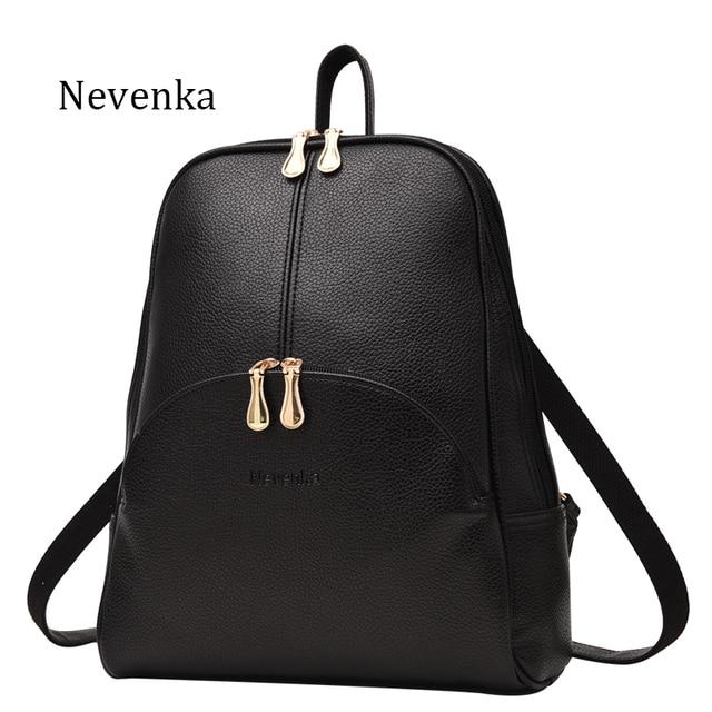 Nevenka Mini Backpack Women Light Weight Daypacks Girls Fashion Backpacks Ladies Leather School Bag Female Gray Backpack Black
