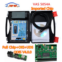 DHL Free 2018 Best Quality VAS 5054A Imported full chip with OKI VAS5054A ODIS V4.0.0 Bluetooth Support UDS diagnostic tool