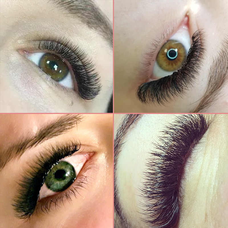 4bc138fc171 ... Genielash individual mink eyelashes russian volume eyelash extensions  supplies mega volume lashes individual lash extension ...
