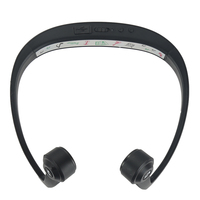 V9 Ear Hook Bone Conduction Bluetooth 4 2 Sports Headphone Headset With Mic Adjustable Headband For