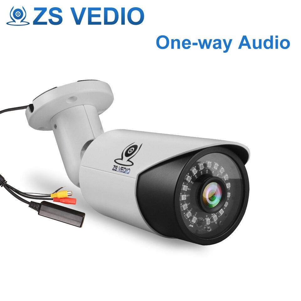ZSVEDIO Seetong H 265 Audio 5 0MP POE IP Camera Onvif P2P Metal Housing Outdoor Waterproof