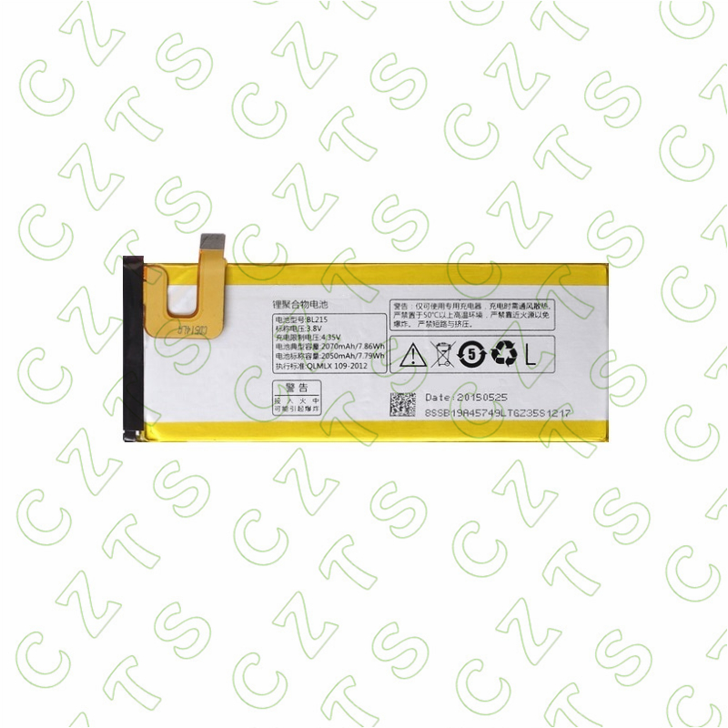 2pcs BL215 3.8V 2050mAh <font><b>Battery</b></font> for <font><b>Lenovo</b></font> Vibe X <font><b>S960</b></font> S968T mobile phone <font><b>battery</b></font> Free shipping + Track code image